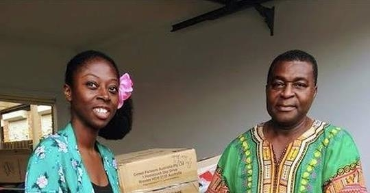 Soap from a Dunedin hotel is helping keep Ghana clean
